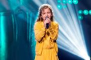 Odile (10) zingt in The Voice Kids